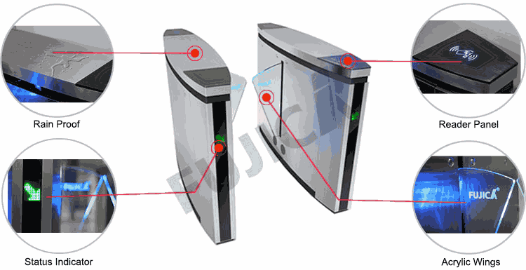 Flap Barriers FJC Z1358 8